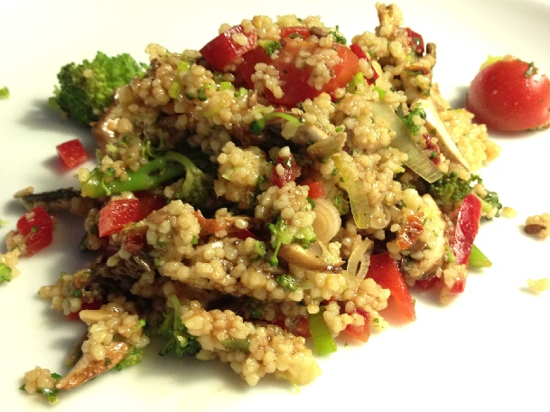 Stefanie´s Brokkoli-Vario-Salat
