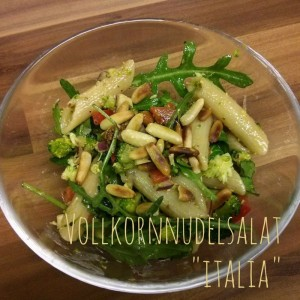 Vollkorn-Nudelsalat Italia