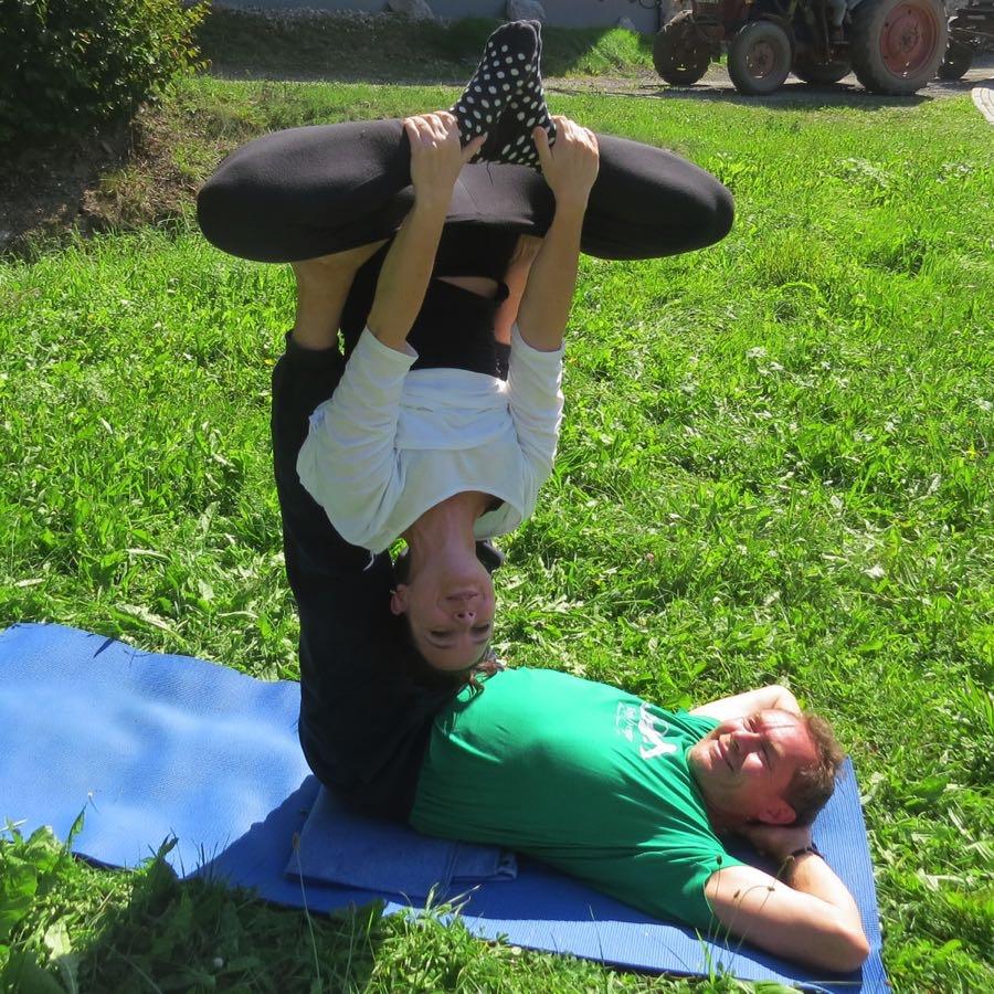 Yogatag mit Klaus König bei zeitRaum Gera